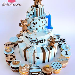 Bears and cookies cake  - Cake by Nataša