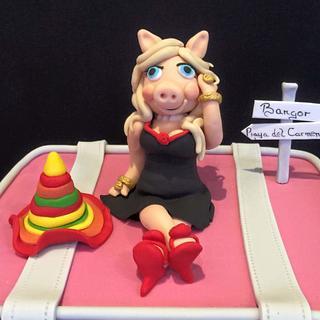 Miss Piggy birthday  cake