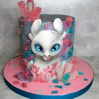 Light Fury Cake