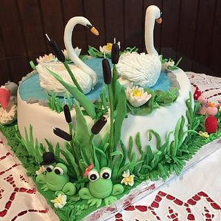 Ružno pače#reformacake#fondantcake# - Cake by Vesna
