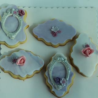 Vintage Themed Cookies