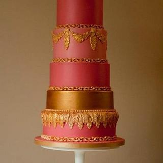 Fashion Inspired Cake, featured in Cake Central Magazine September 2012 Issue