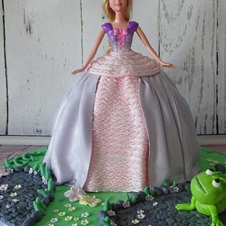 Rapunzel - Cake by Siep