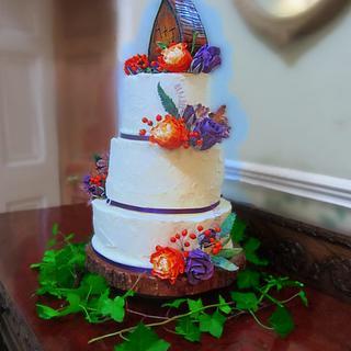 buttercream wedding cake - Cake by alison1966