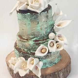 Rustic Chic with Sugar Flowers