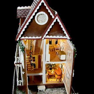 Gingerbread house  - Cake by  Justyna A-Majewska   JAM