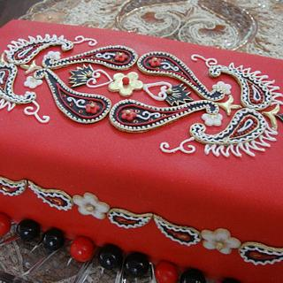 Indian design - Cake by Zohreh