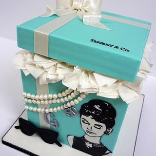 Breakfast at Tiffany Cake