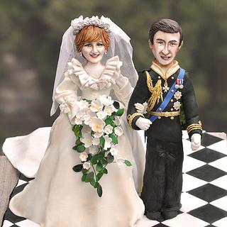 The Royal Wedding - Cake by Cakes en Vogue