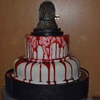 Game of Thrones Cake , Bloody Cake