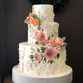 In Living Coral - Cake by Mucchio di Bella