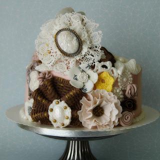 Birthday retro - Cake by Marek