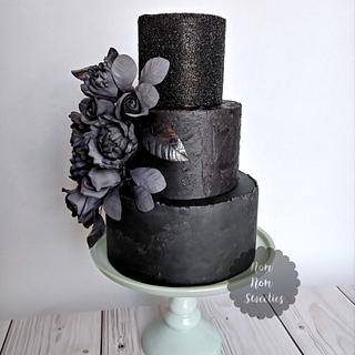 Midnight Beauty - 50 Cakes of Grey Collaboration