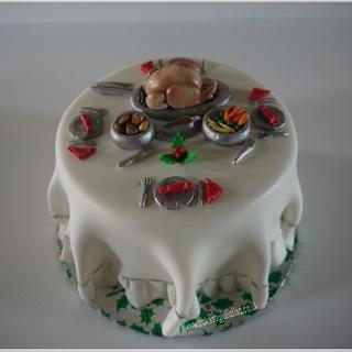 Charity Christmas cake