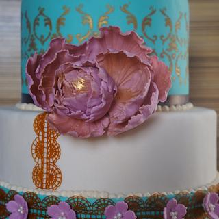 Moroccan  style cake