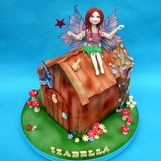 Izabella's fairy house