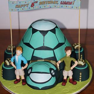 Tortuga Ship Cake