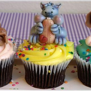 Animal Cupcakes :) - Cake by Sweet Dreams by Heba
