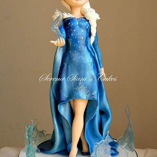 Elsa  - Cake by Serena Siani