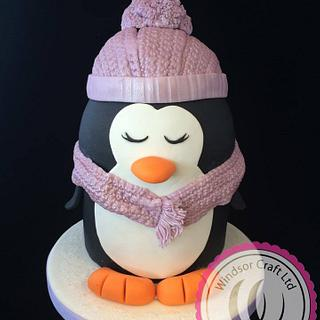 Adorable Penguin Cake by Windsor