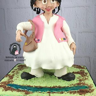 Sculpture cake...ramadan character