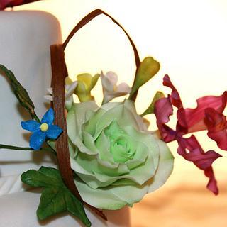 Raphael - Green Ombre Roses