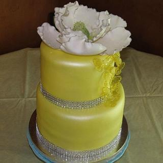 Bridal Shower Cake - Cake by Tonya