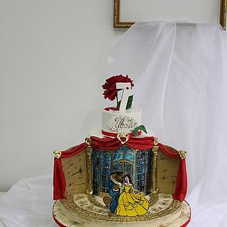 *Beauty and the Beast* - Cake by Ana Marija cakes