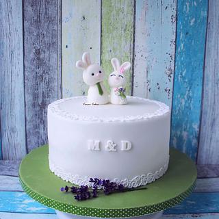 Wedding cake - Cake by Kmeci Cakes