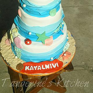 Blue Ocean - Cake by tangerine