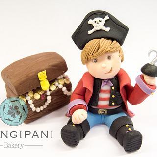 Little pirate - Cake by Frangipani Bakery