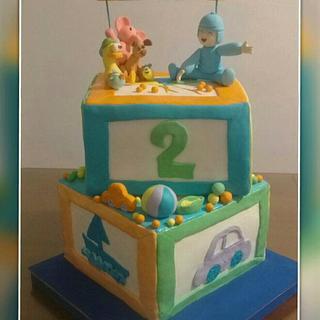 POCOYO CAKE - Cake by Gisela Gañan