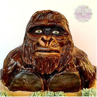 King Kong Skull Island - Cake by Sabrina - White's Custom Cakes