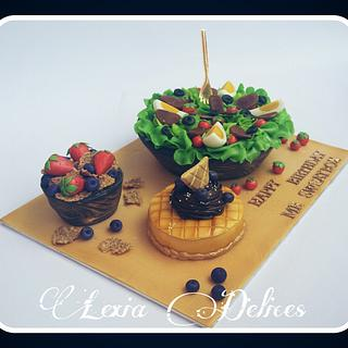 Healthy Bowl Cake - Cake by Lexia Delices