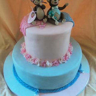 Baby Shower - Cake by Goreti