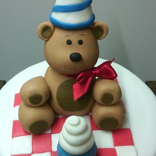 Bear cake - Cake by Andrea - La Ventana Dulce