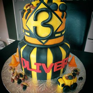 Construction Cake  - Cake by The Cakery