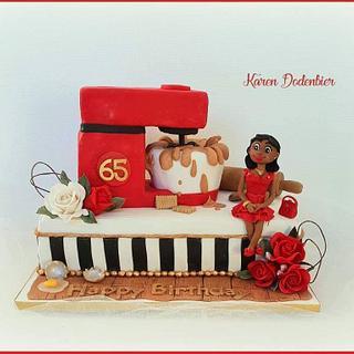 Baker cake