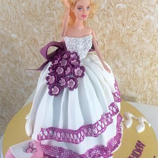 Doll Cake for a Little Princess