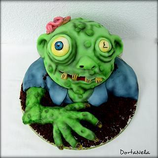 Zombie Cake - Cake by DortaNela