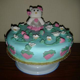 Hello Kitty Birthday Cake - Cake by Unsubscribe