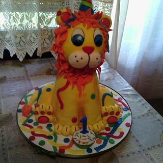 Lion  - Cake by Zoca