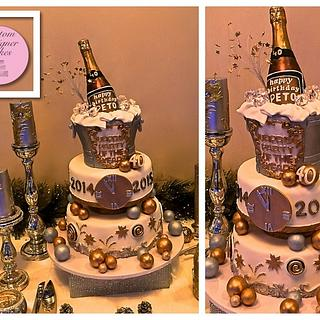 New Year Cake - Cake by Anna