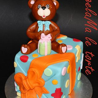 teddy cake 2