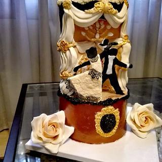Ball room cake