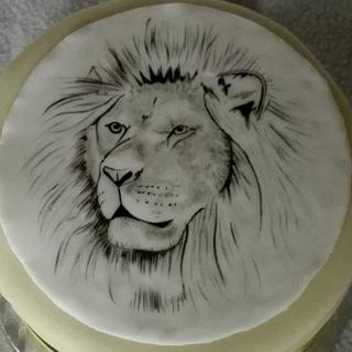 Lion - Cake by Anka