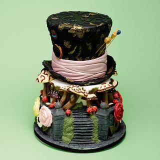 Madhatter - Cake by Dragons and Daffodils Cakes