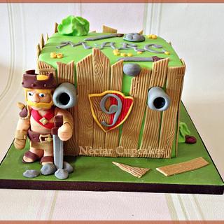Cash of Clans cake - Cake by nectarcupcakes