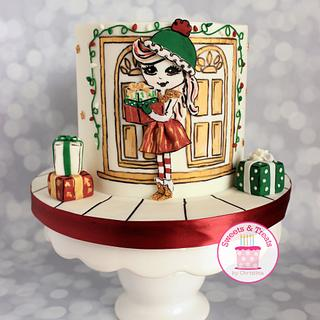 Cuties Little Christmas Collaboration  - Cake by Sweets and Treats by Christina