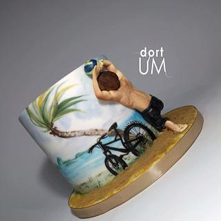 Chilling...sporting... - Cake by dortUM